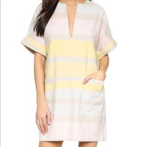 Mara Hoffman short sleeve shirt dress
